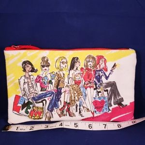 Brighton 2018 Makeup Travel Zippered Bag NWOT